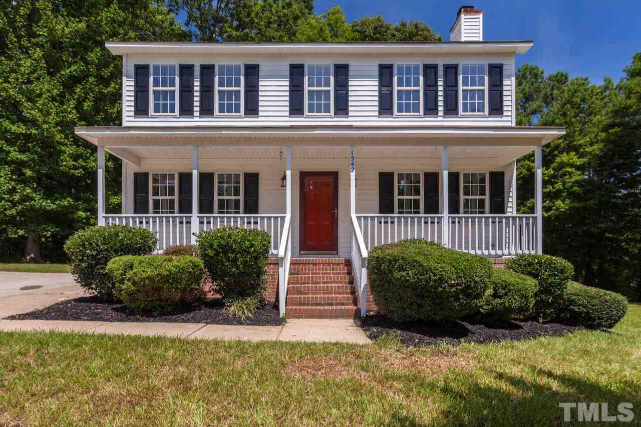 Photo of home for sale at 1542 Middle Ridge Drive, Willow Spring NC