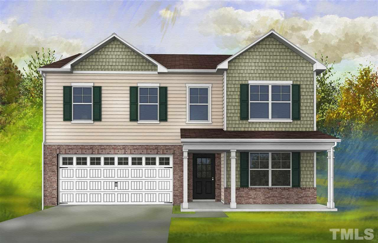 Photo of home for sale at 4321 Auburn Hills Drive, Raleigh NC
