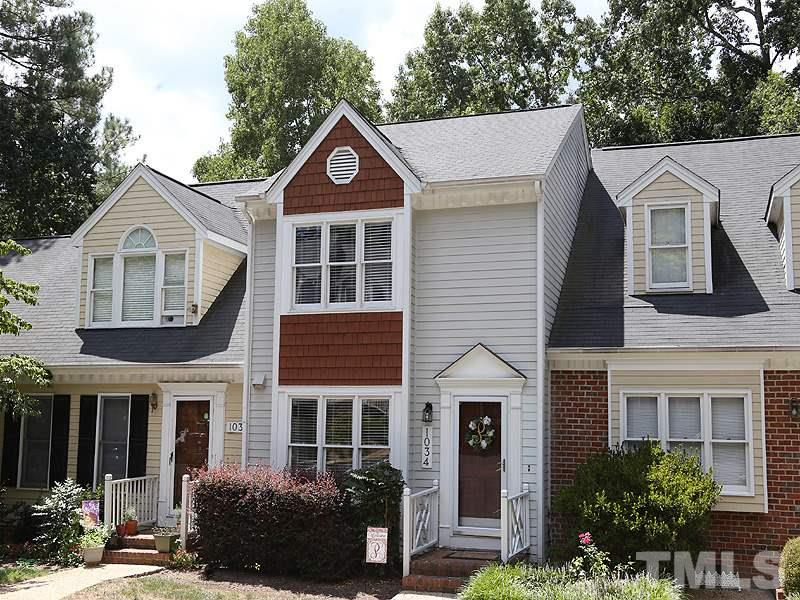 Photo of home for sale at 1034 High Lake Court, Raleigh NC