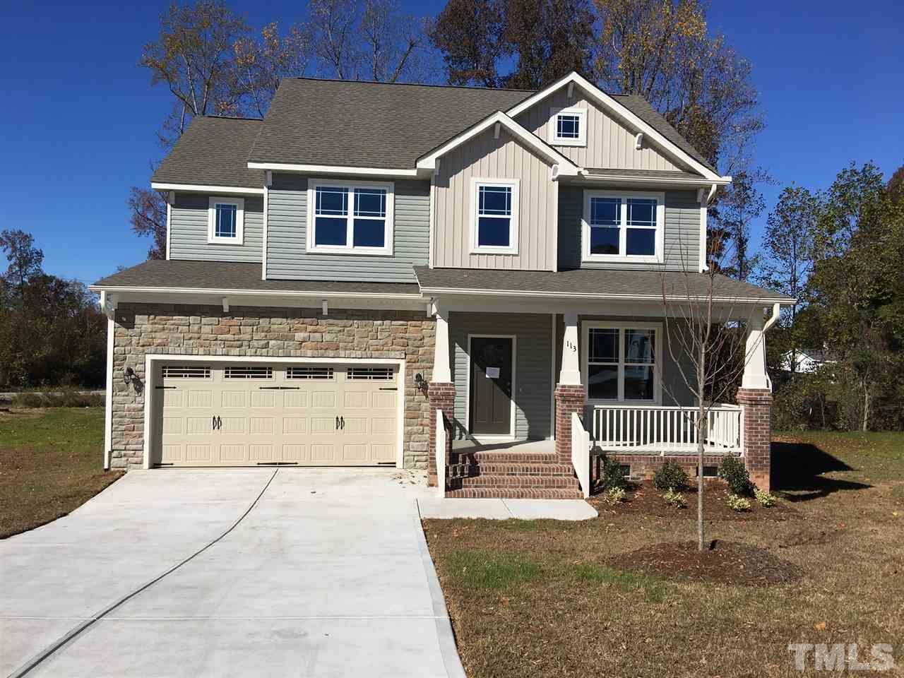 Photo of home for sale at 113 Thimble Way, Garner NC