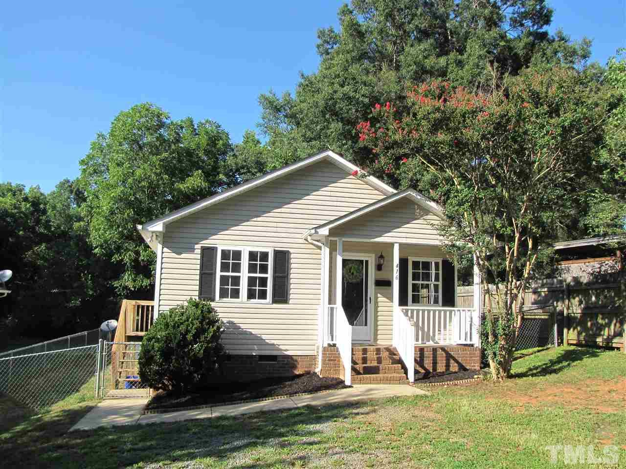 Photo of home for sale at 416 Lee Street W, Mebane NC