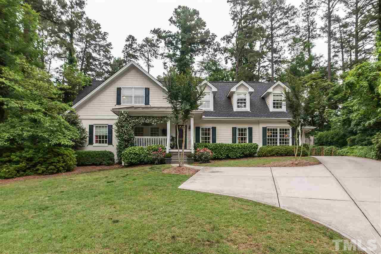 Photo of home for sale at 3320 Milton Road, Raleigh NC