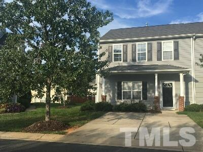 Photo of home for sale at 211 Cline Falls Drive, Holly Springs NC
