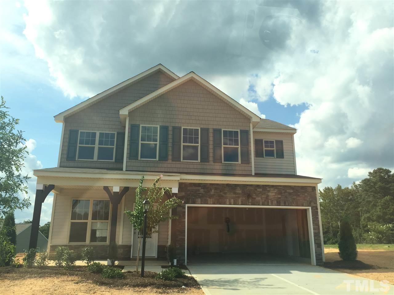 Photo of home for sale at 252 Naples Lane, Clayton NC