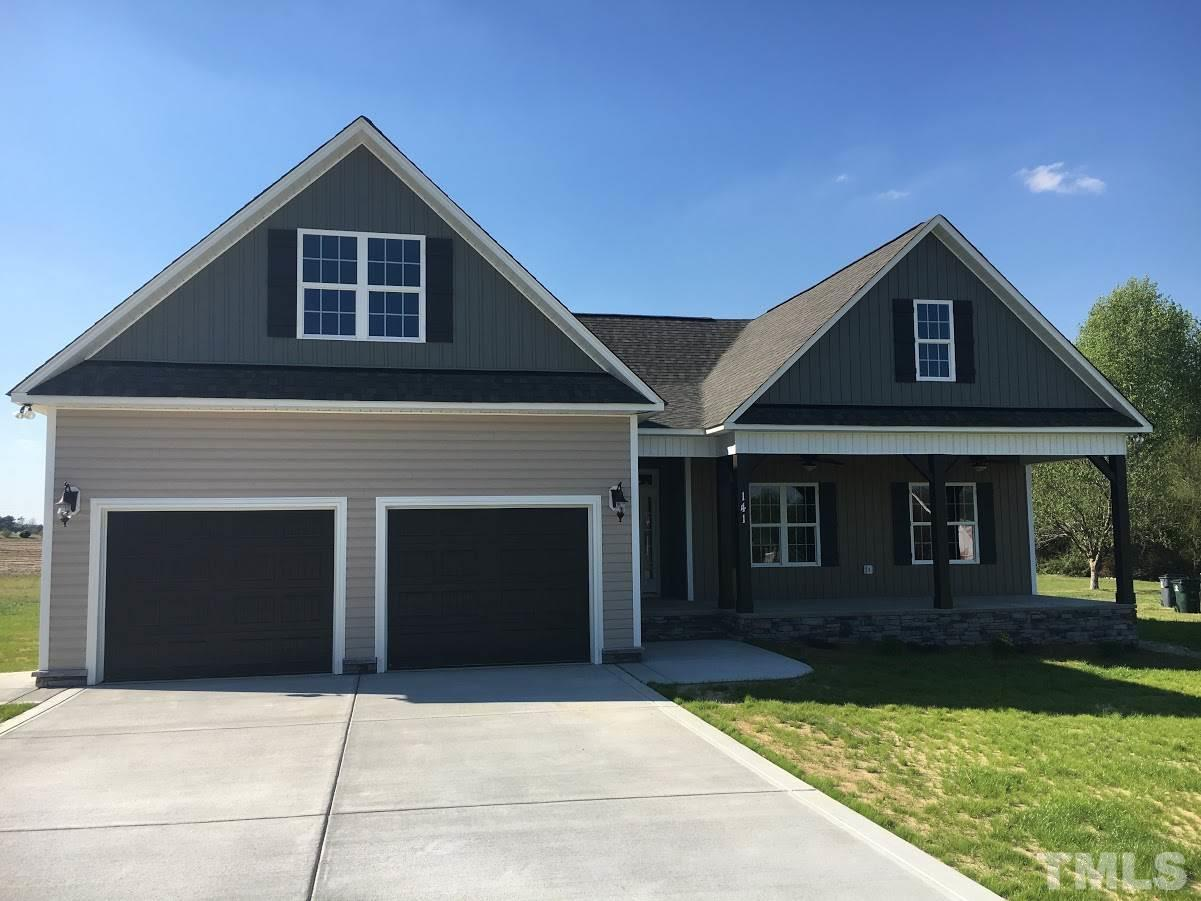 Photo of home for sale at 141 Curr Well Drive, Benson NC