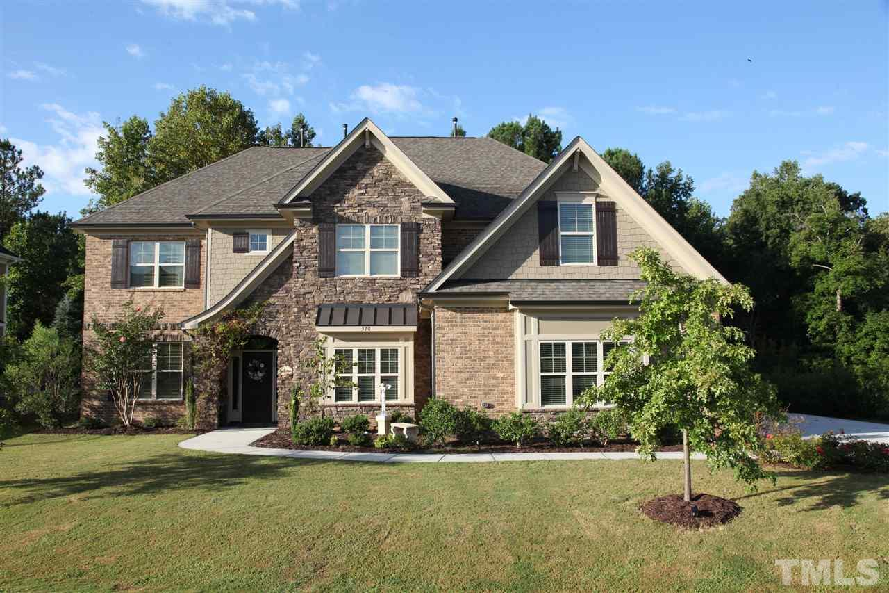 Photo of home for sale at 328 Karpen Lane, Cary NC