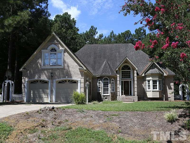 Photo of home for sale at 5107 Woodfield Lane, Knightdale NC