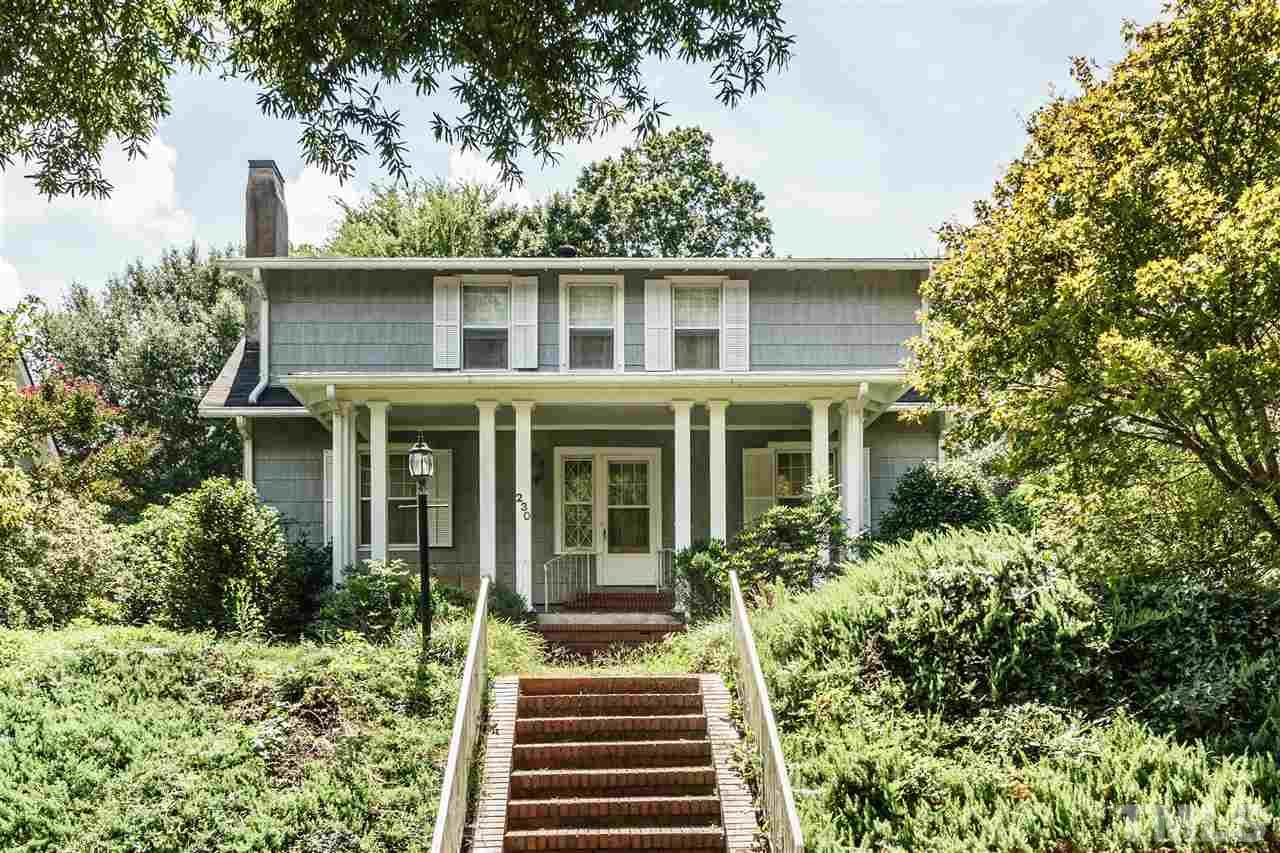 Photo of home for sale at 230 Park Drive E, Raleigh NC