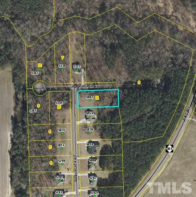 Property for sale at 5882 ROSEHEATH Road, Bailey,  NC 27807