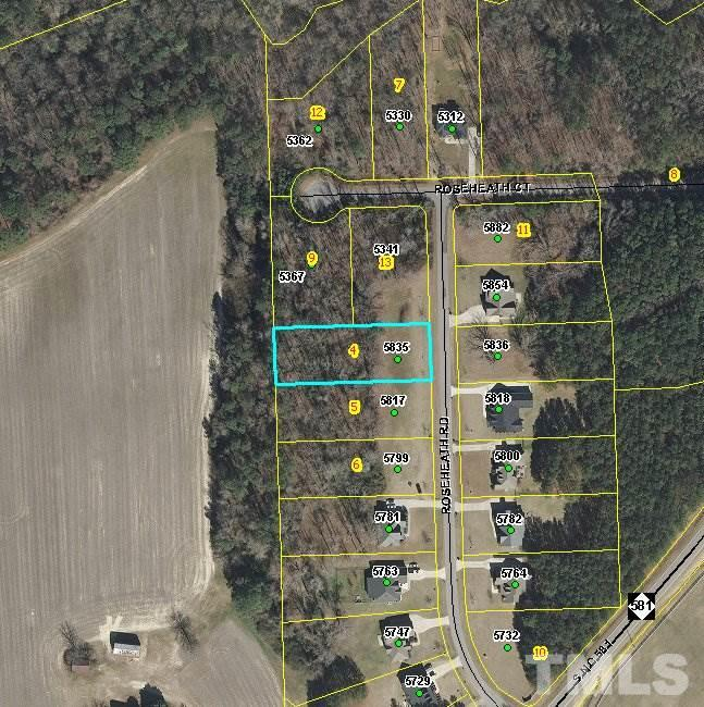 Property for sale at 5835 ROSEHEATH Road, Bailey,  NC 27807