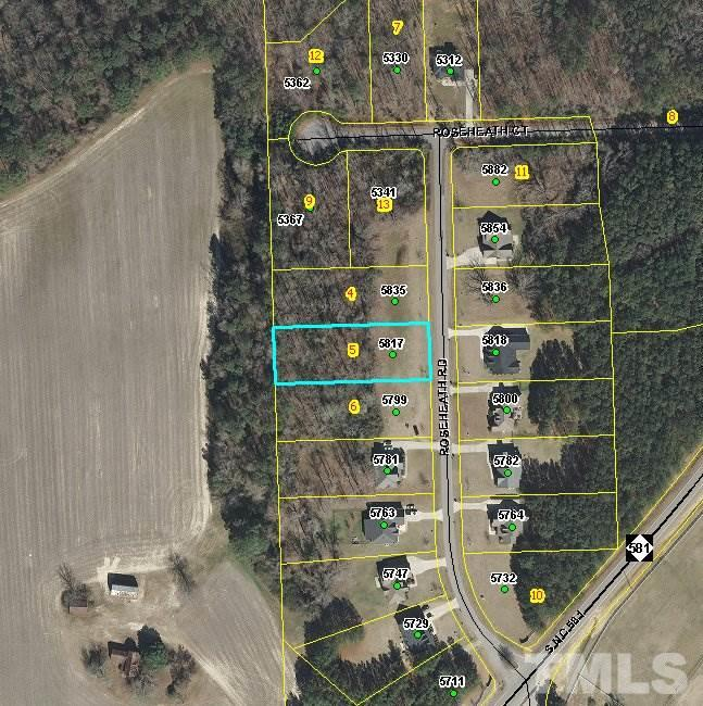 Property for sale at 5817 ROSEHEATH Road, Bailey,  NC 27807