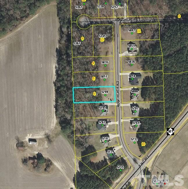 Property for sale at 5799 ROSEHEATH Road, Bailey,  NC 27807