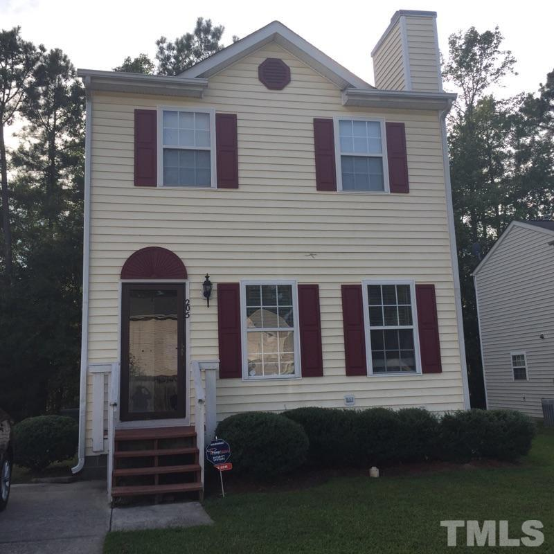 Photo of home for sale at 205 Gladstone Drive, Durham NC