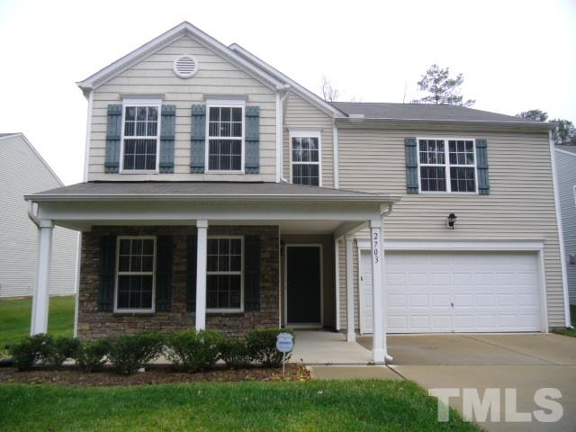 Photo of home for sale at 2703 Thoreau Drive, Durham NC