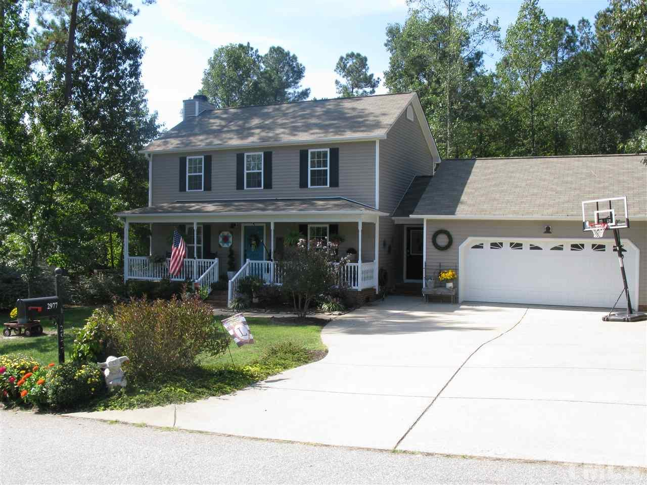 Photo of home for sale at 2977 Deep Glen Court, Raleigh NC