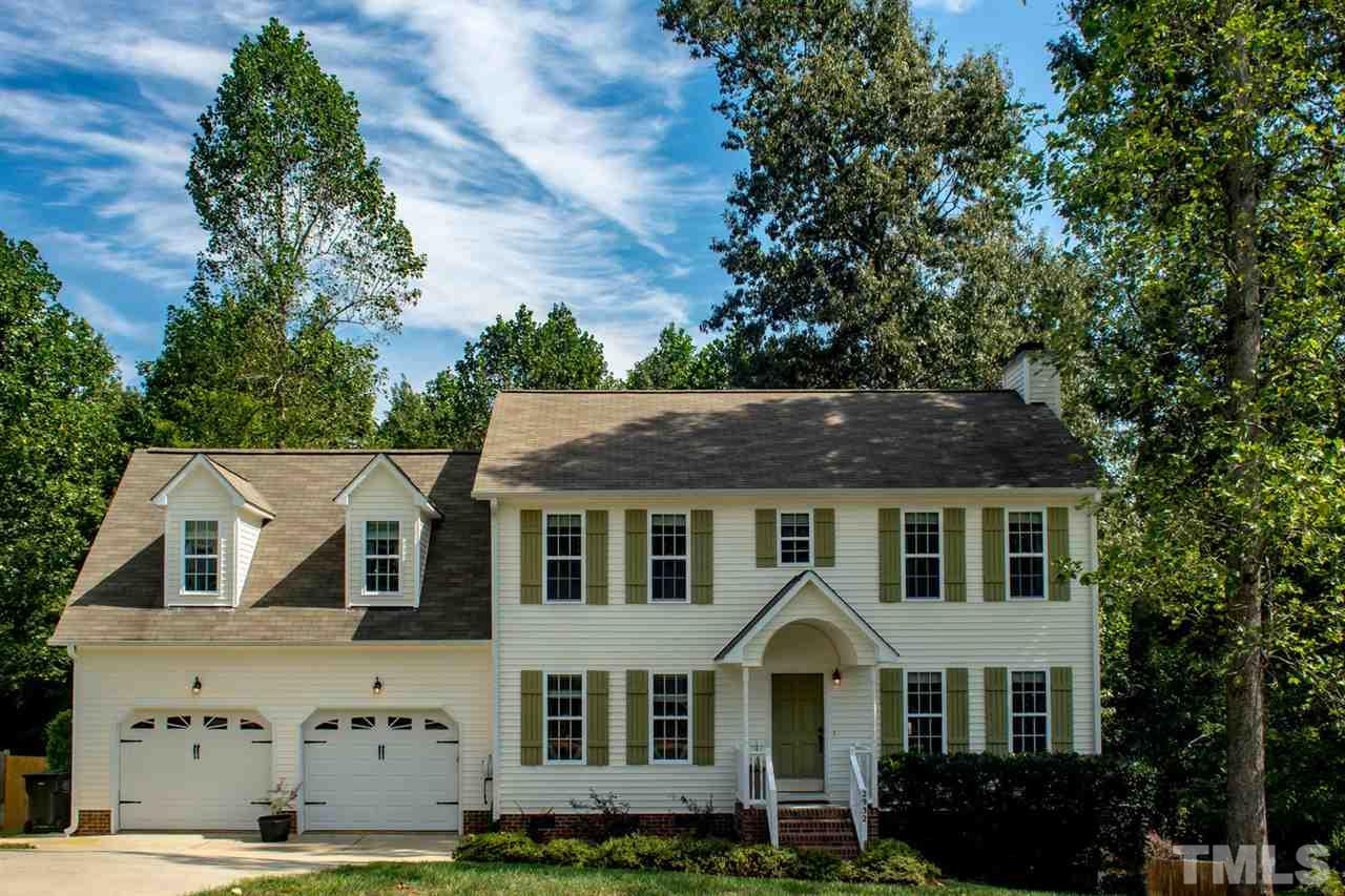 Photo of home for sale at 2932 Deep Glen Court, Raleigh NC