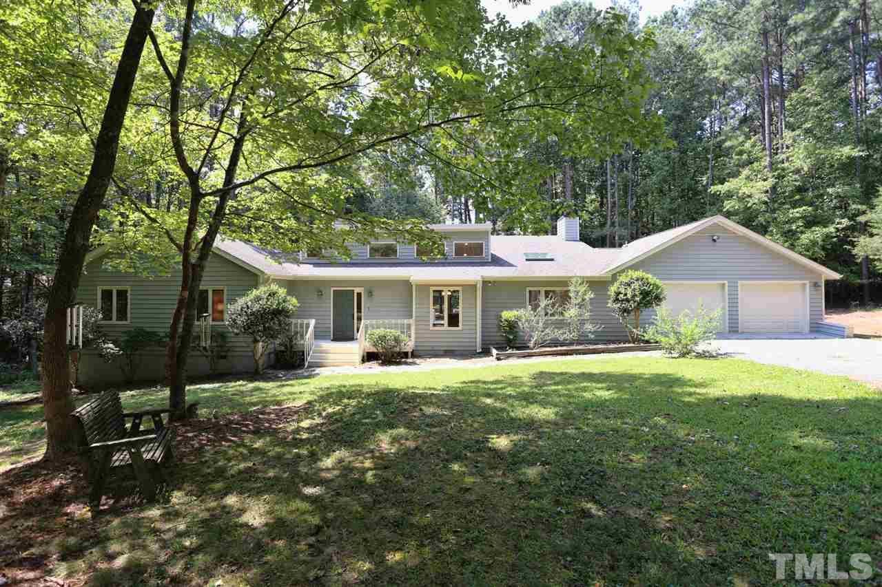 Photo of home for sale at 201 Wild Turkey Trail, Chapel Hill NC