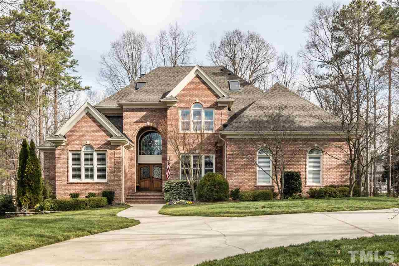 Photo of home for sale at 110 Ronsard Lane, Cary NC
