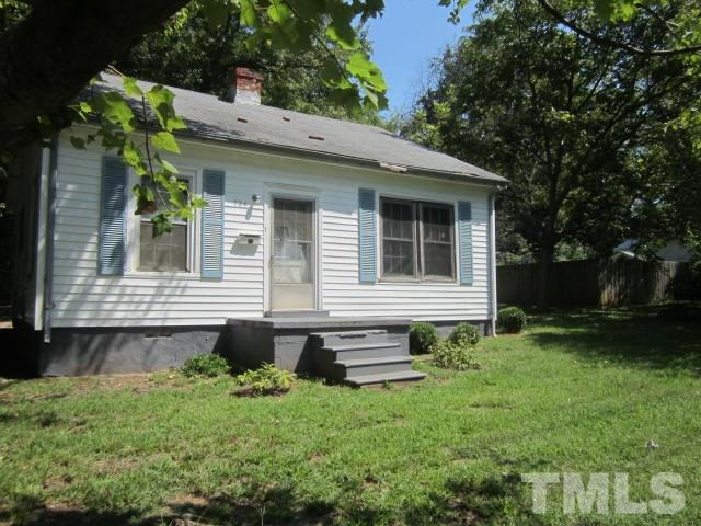 Photo of home for sale at 724 Rook Street, Henderson NC