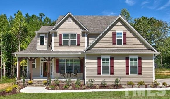 Photo of home for sale at 515 Bridgeport Circle, Clayton NC