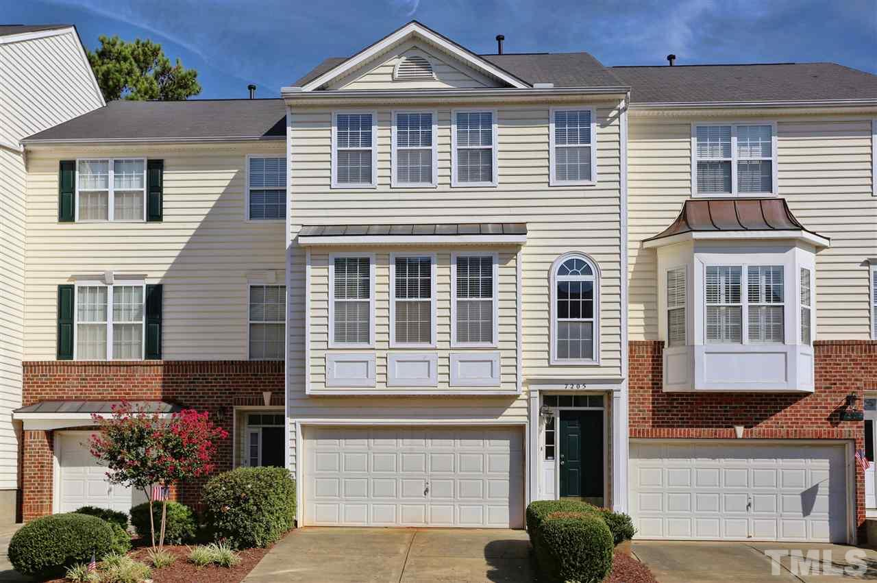 Photo of home for sale at 7205 Doverton Court, Raleigh NC