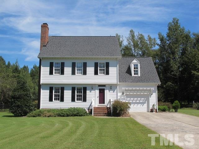 Photo of home for sale at 58 Brightleaf Court, Angier NC
