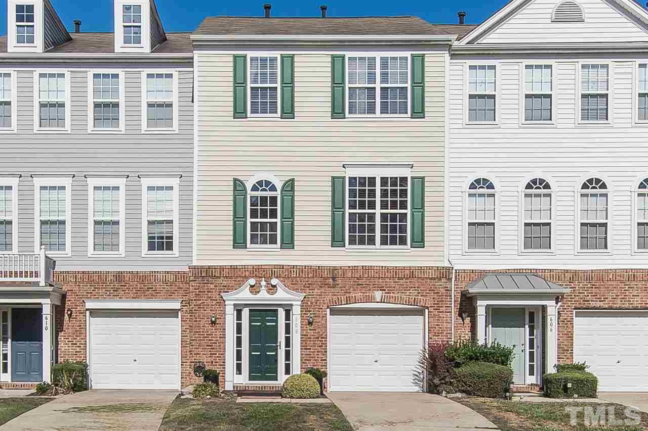 Photo of home for sale at 608 Sutter Gate Lane, Morrisville NC