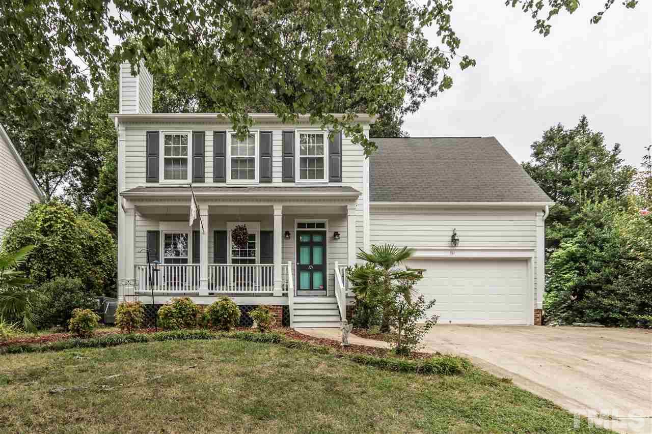 Photo of home for sale at 711 Riverway Lane, Knightdale NC