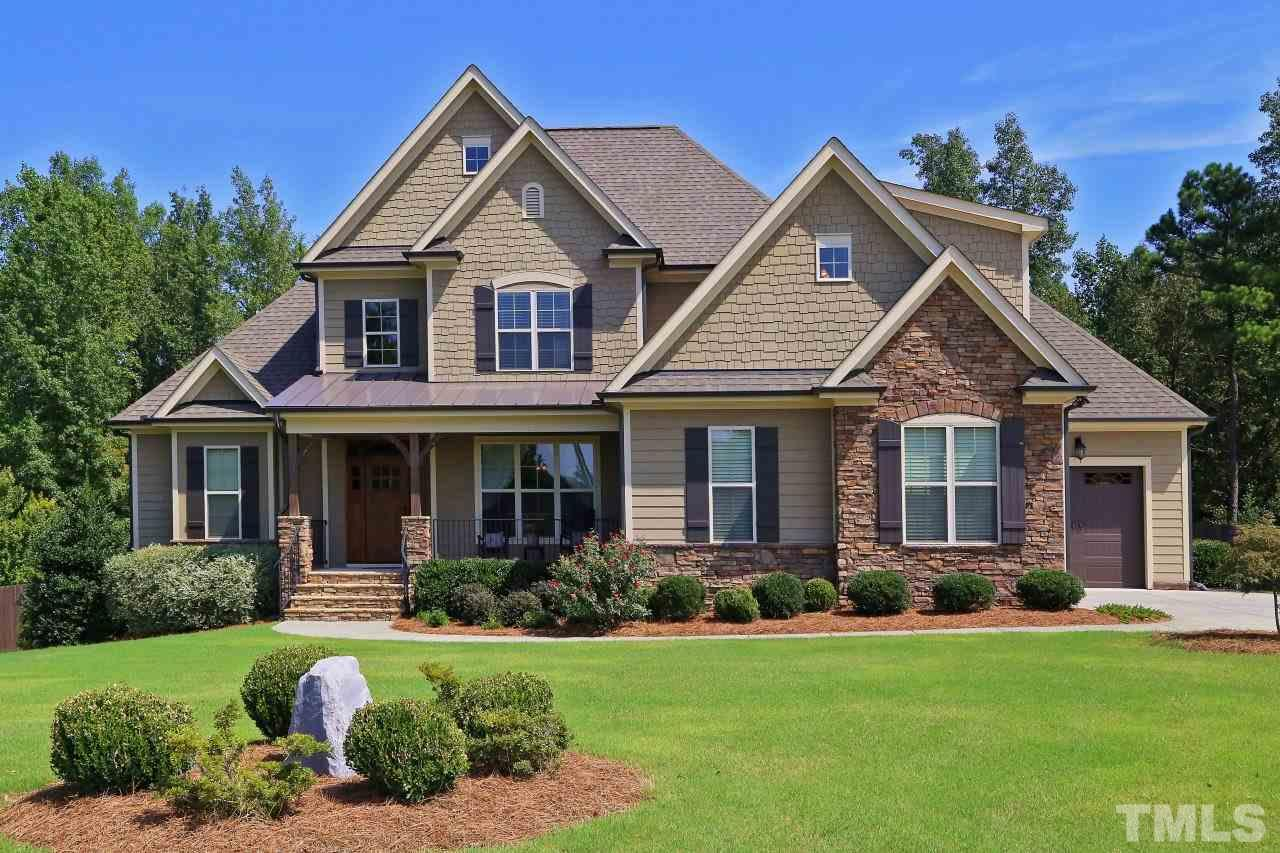 Photo of home for sale at 3128 Mcdade Farm Road, Raleigh NC