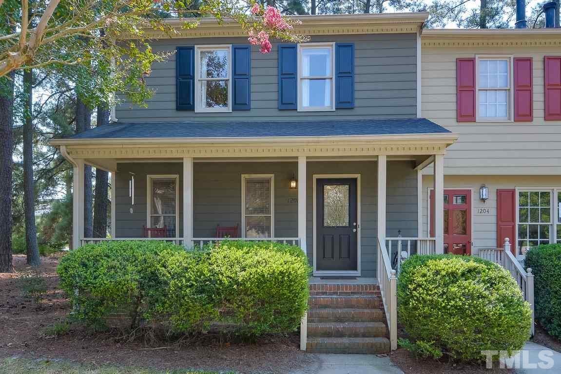 Photo of home for sale at 1206 Shadowbark Court, Raleigh NC