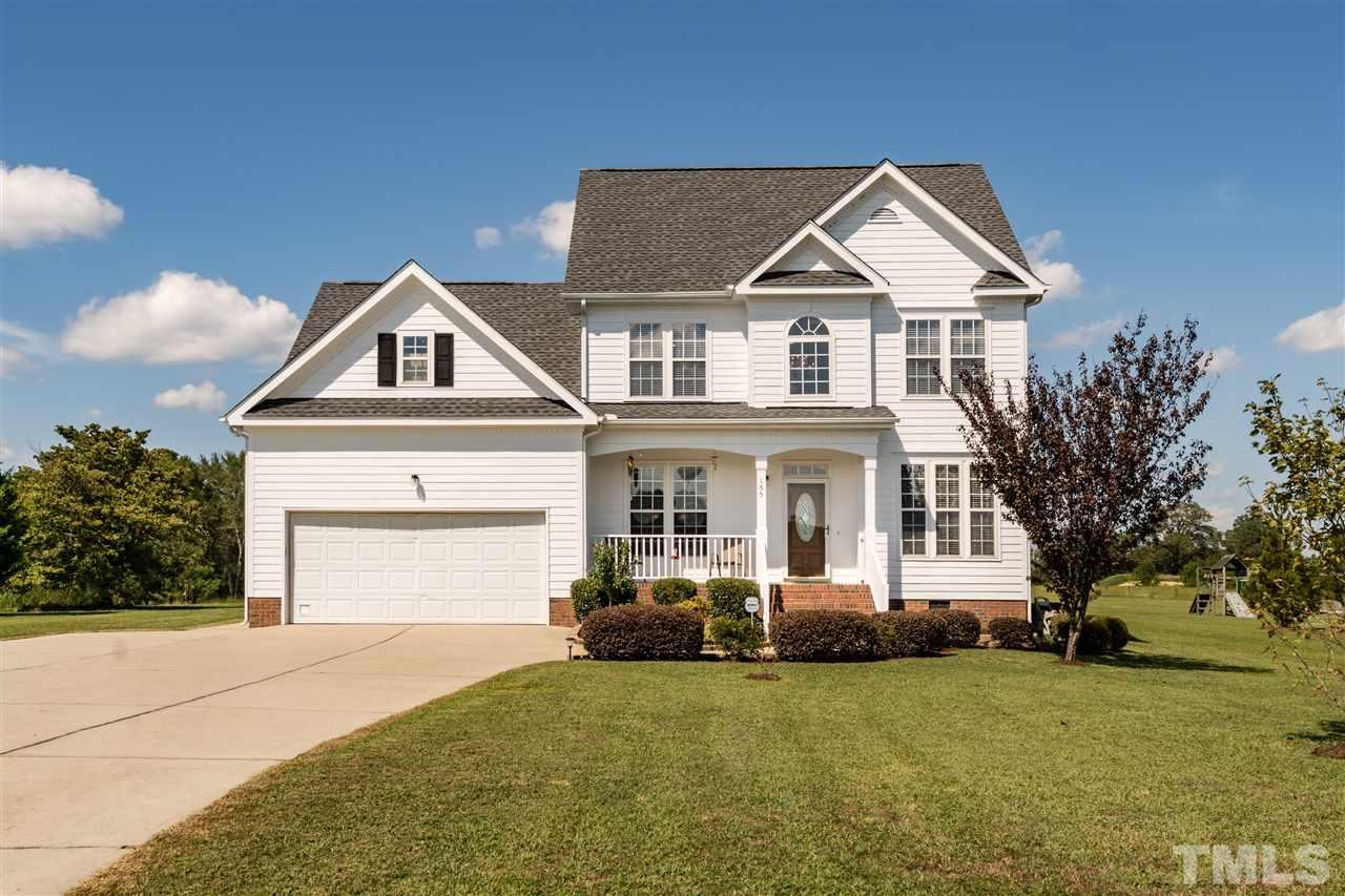 Photo of home for sale at 155 Amsterdam Drive, Clayton NC