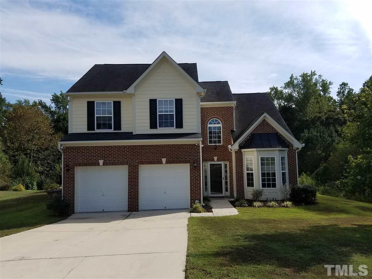 Photo of home for sale at 2904 Carriage Meadows Drive, Wake Forest NC