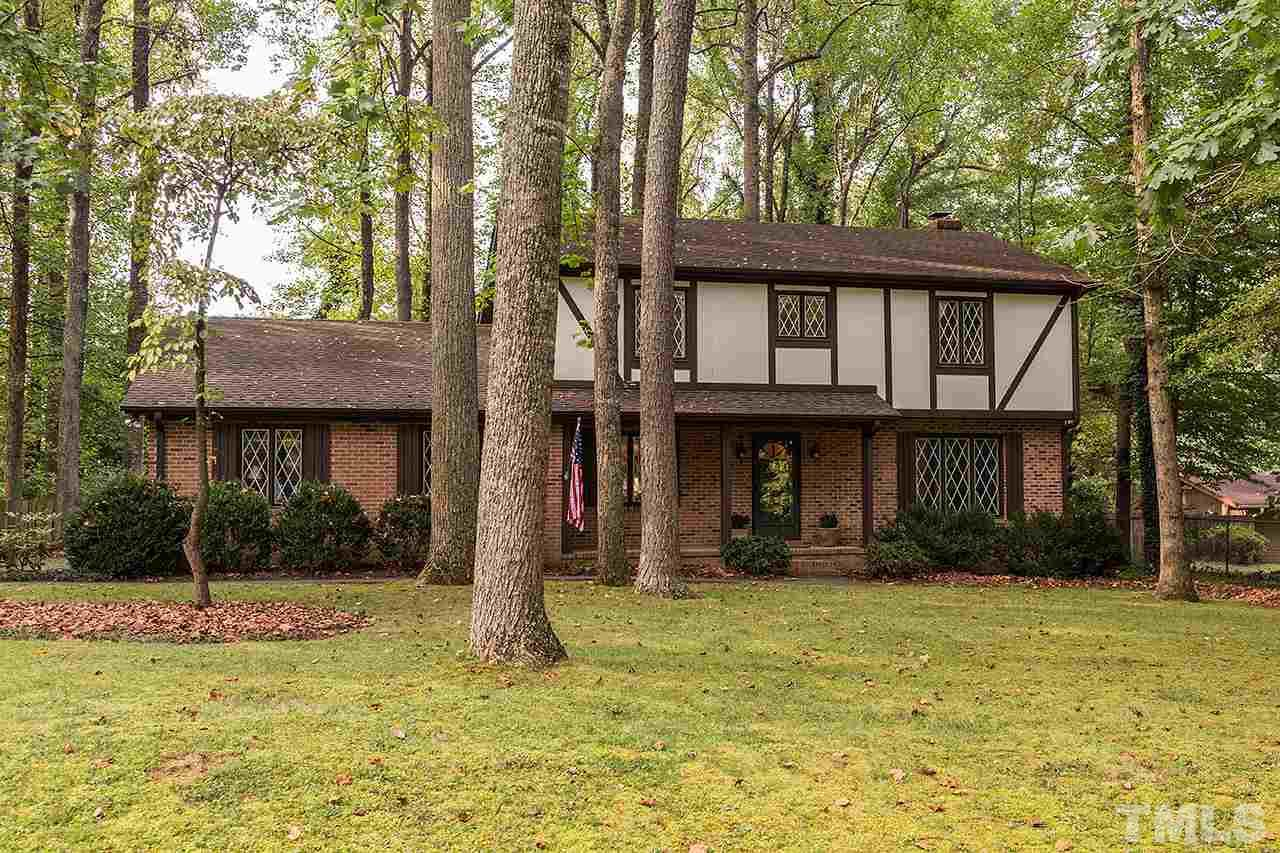 Photo of home for sale at 2715 Heather Glen Road, Durham NC