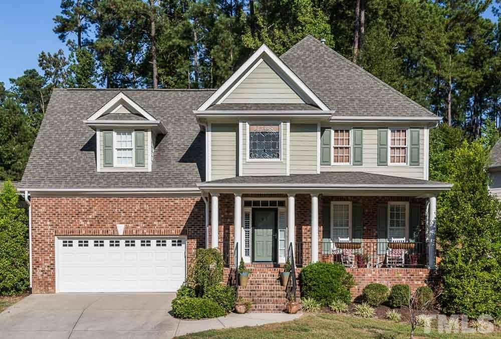 Photo of home for sale at 3612 Glidewell Court, Durham NC