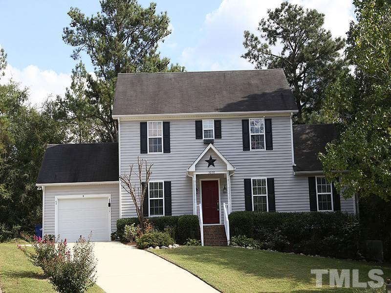 Photo of home for sale at 3228 Arden Branch Lane, Raleigh NC