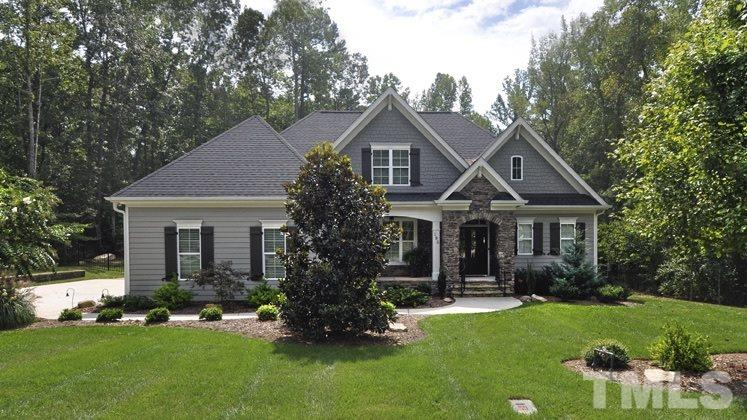 Photo of home for sale at 195 Manns Crossing Drive, Pittsboro NC