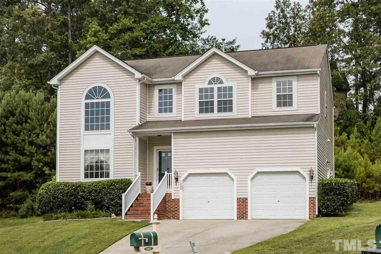 Photo of home for sale at 1005 Double Spring Court, Apex NC