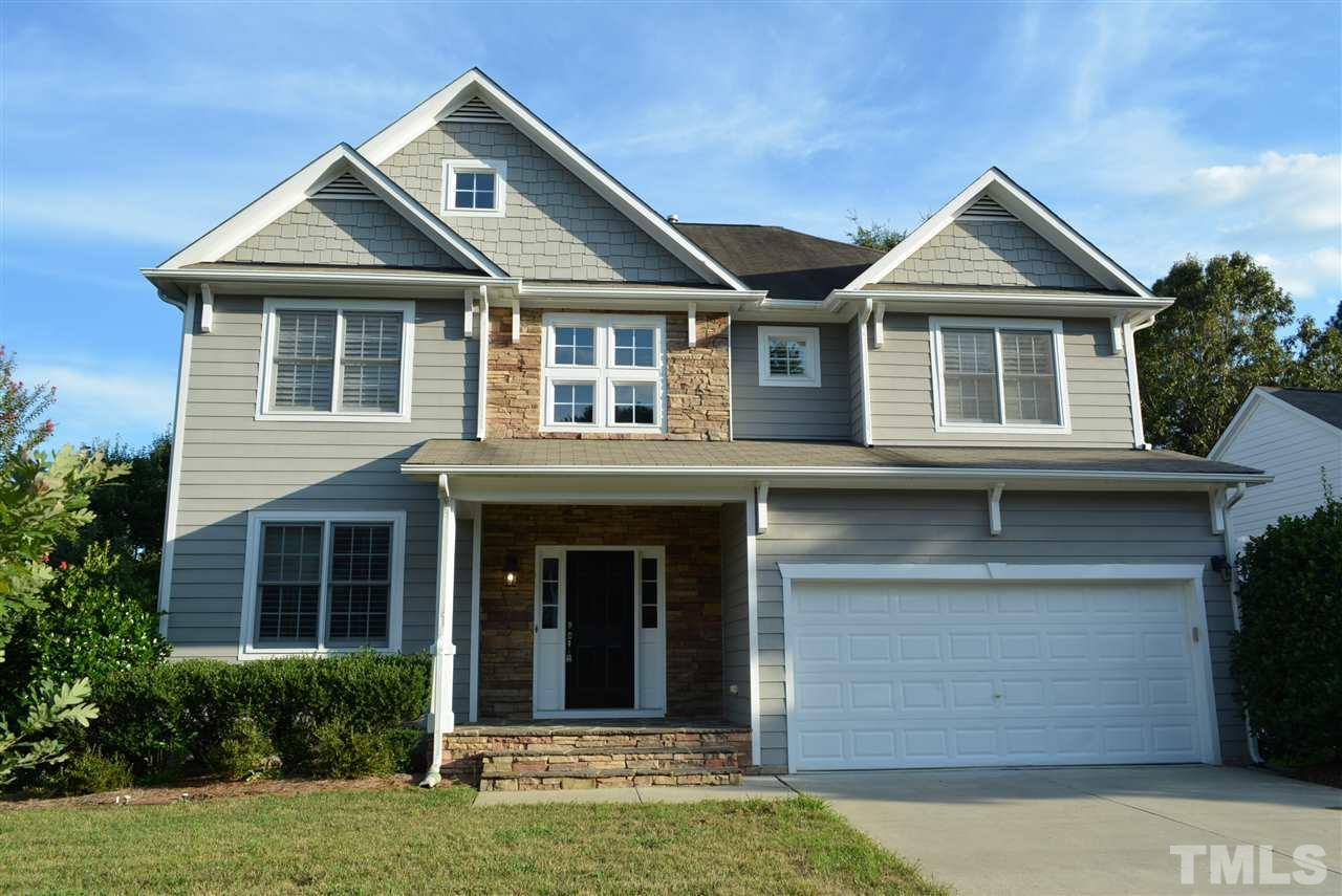 Photo of home for sale at 2220 Wakespring Court, Raleigh NC