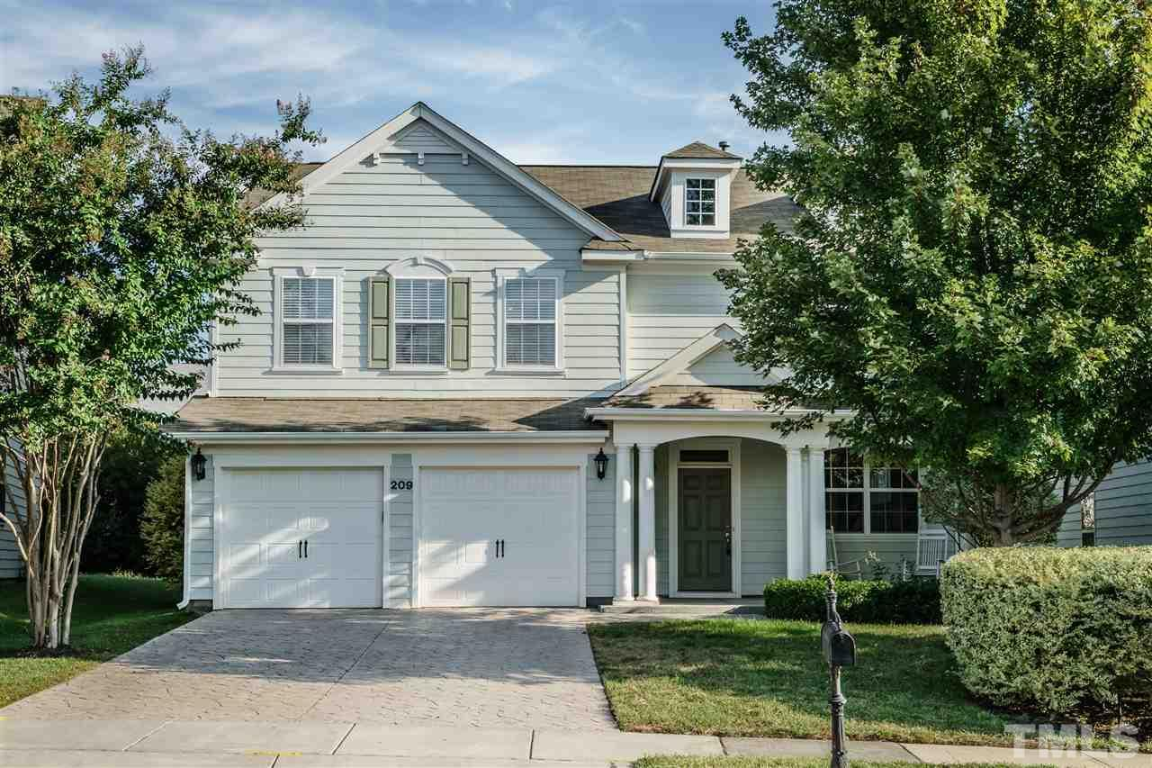 Photo of home for sale at 209 Bog Hill Lane, Cary NC