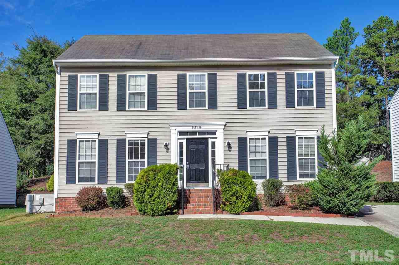 Photo of home for sale at 8328 Hobhouse Circle, Raleigh NC