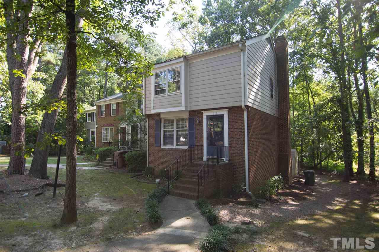 Photo of home for sale at 710 Collington Drive, Cary NC