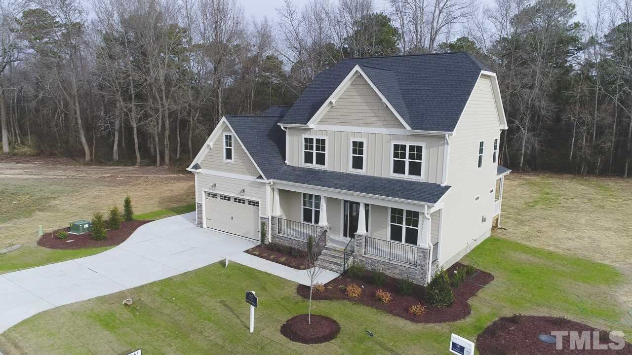 Photo of home for sale at 1037 Sky Wave Trail, Raleigh NC