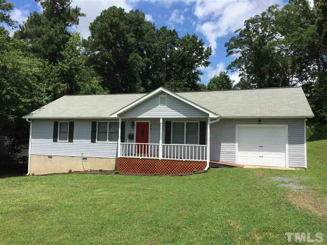 Photo of home for sale at 461 Mcpherson Drive E, Mebane NC