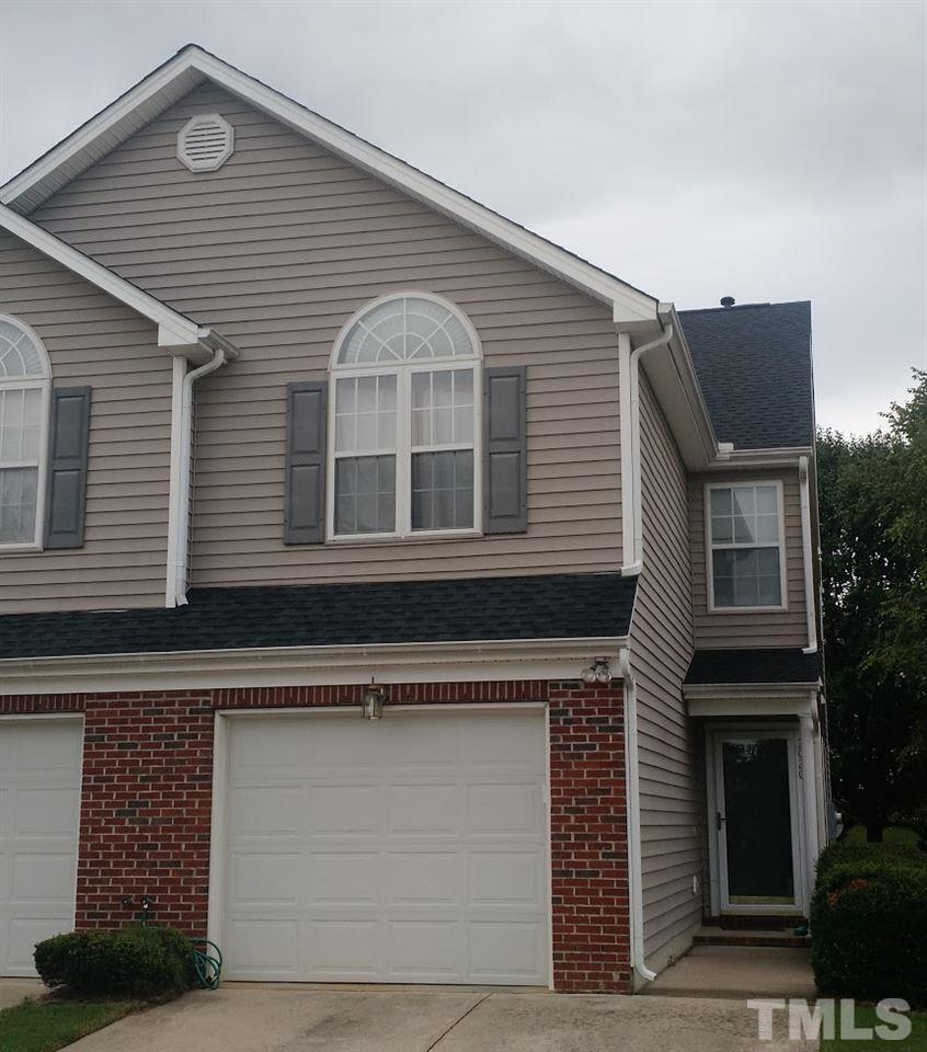 Photo of home for sale at 2020 Thornblade Drive, Raleigh NC