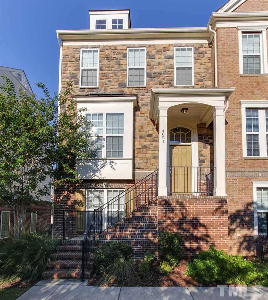 Photo of home for sale at 4021 Yellowfield Way, Cary NC