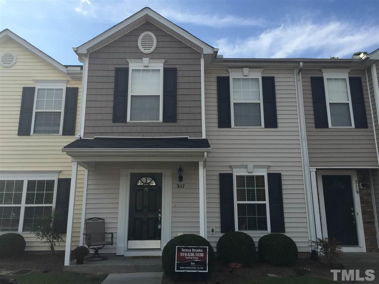 Photo of home for sale at 3117 Ivey Wood Lane, Durham NC