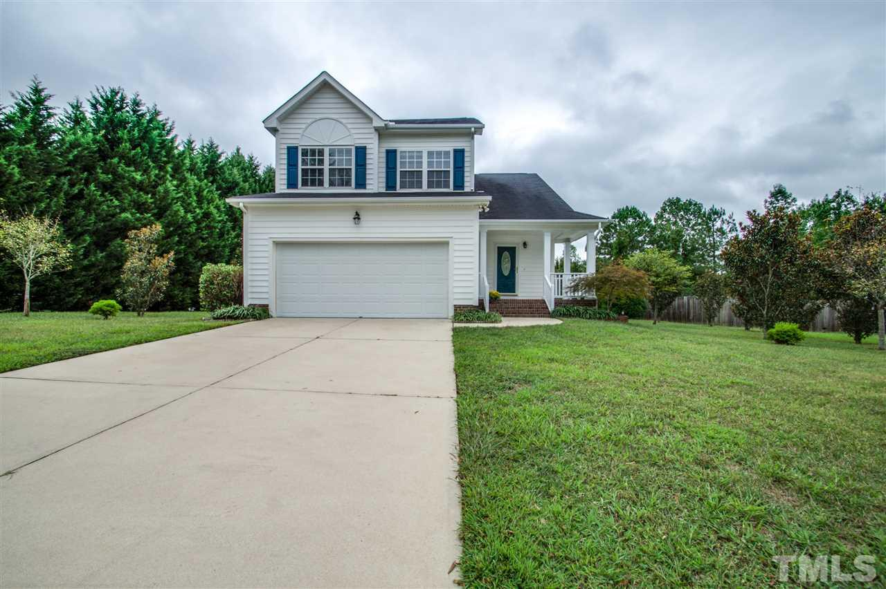 Photo of home for sale at 316 Amaryllis Lane, Wake Forest NC