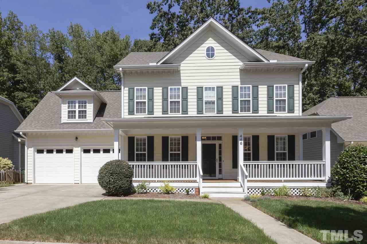 Photo of home for sale at 446 Powell Place Lane, Pittsboro NC