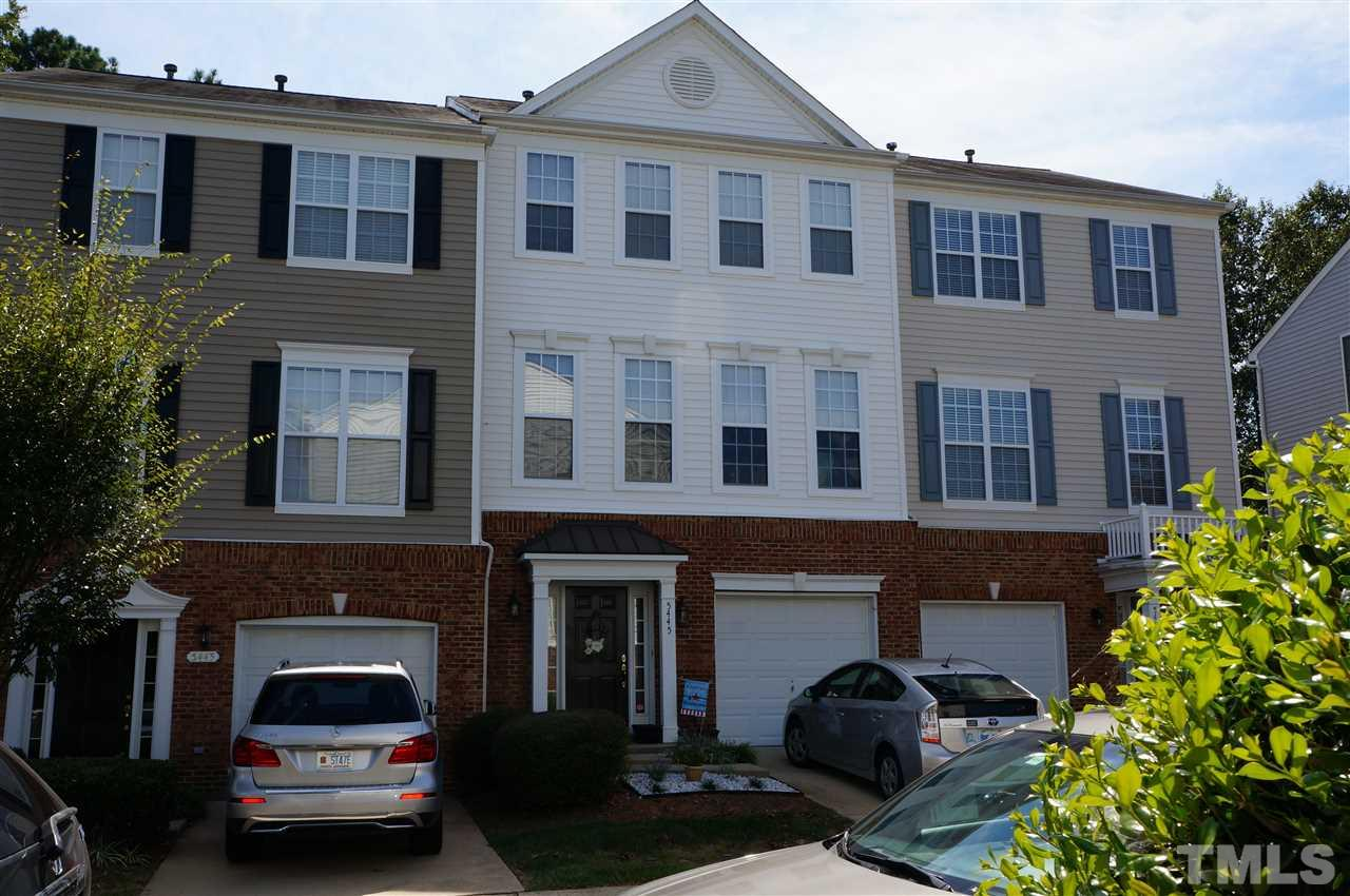 Photo of home for sale at 5445 Golden Arrow Lane, Raleigh NC