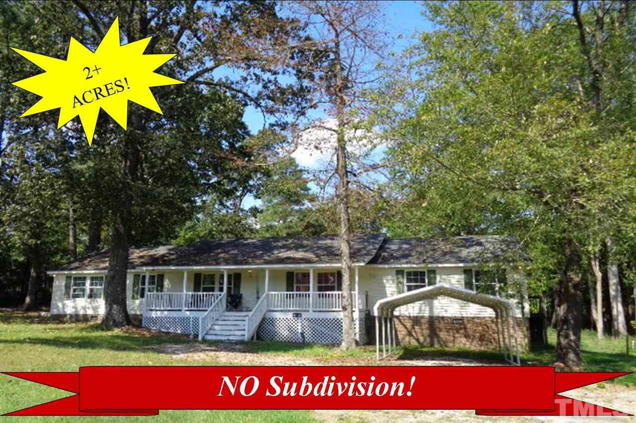 Photo of home for sale at 550 Spring Lake Road, Four Oaks NC